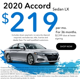 Sept Accord Lease