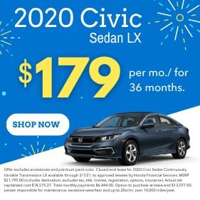 2020 Civic Sedan LX