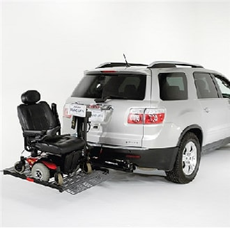 the bruno outsider lifts wheelchair lift for car70 lift
