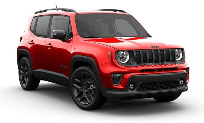 2021 Jeep Renegade 80th Anniversary