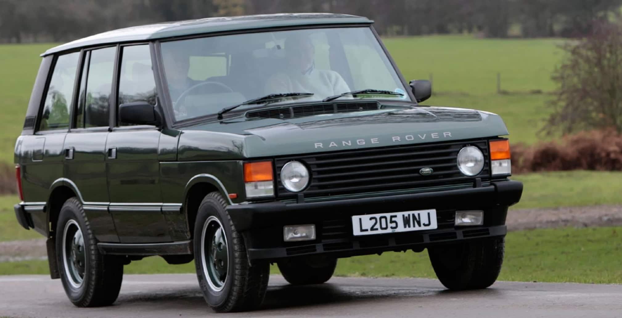 Land Rover Hoffman Estates >> Buy a Vintage Range Rover Through the Land Rover Reborn ...