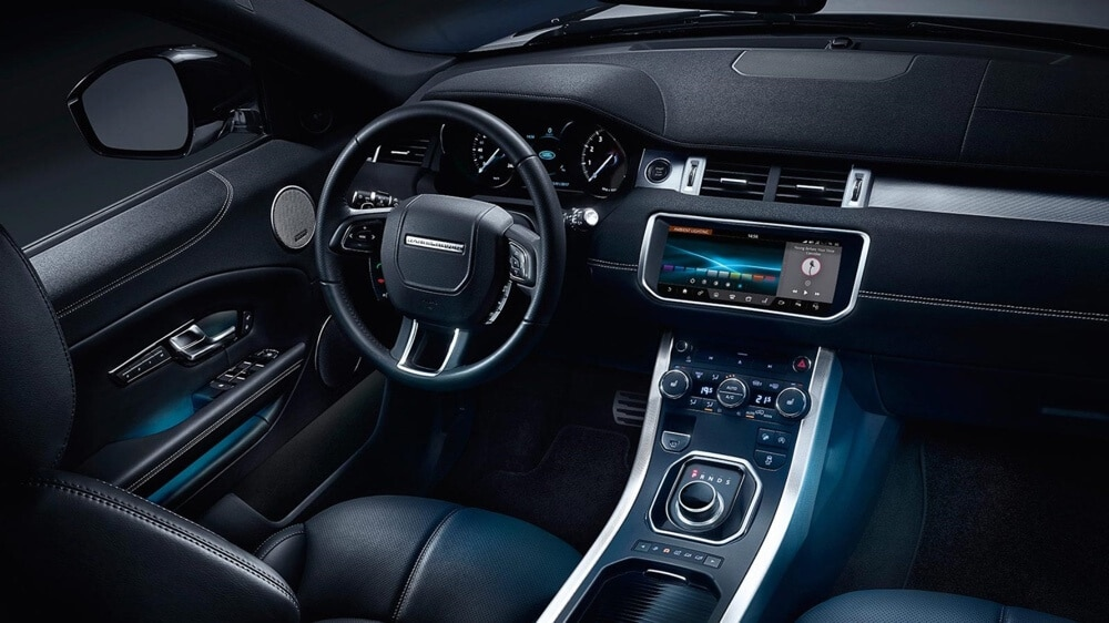 2018 Land Rover Range Rover Evoque Interior Dashboard