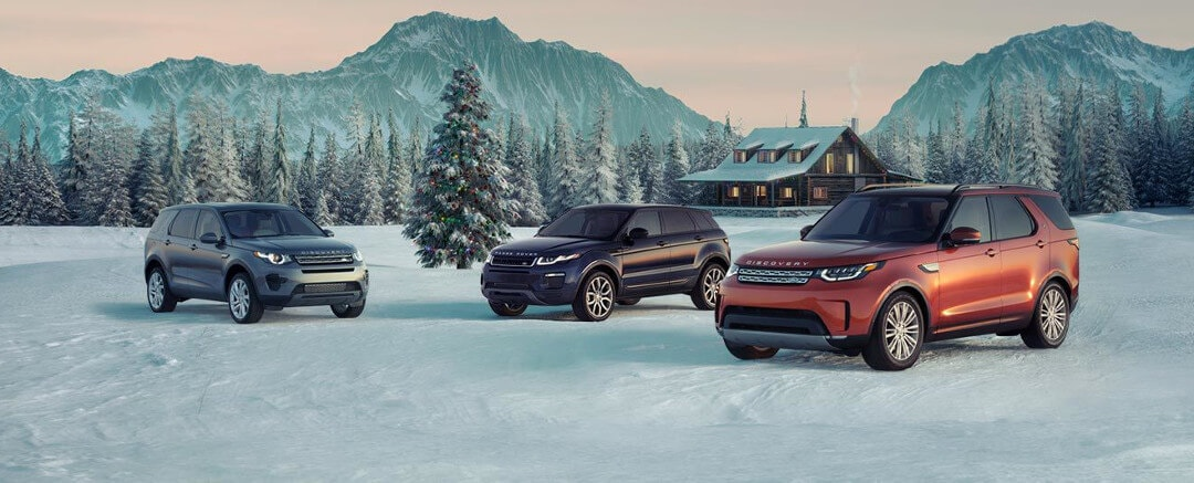 Land Rover Models 2018