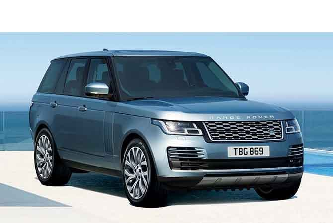 2018 Land Rover Range Rover Supercharged Trim
