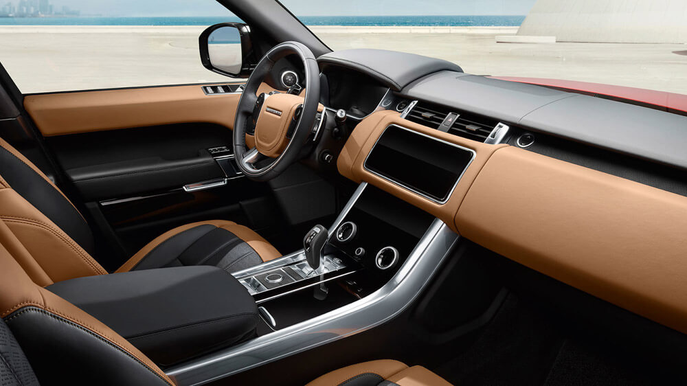Tour The Luxe Interior Of The 2018 Land Rover Range Rover Sport