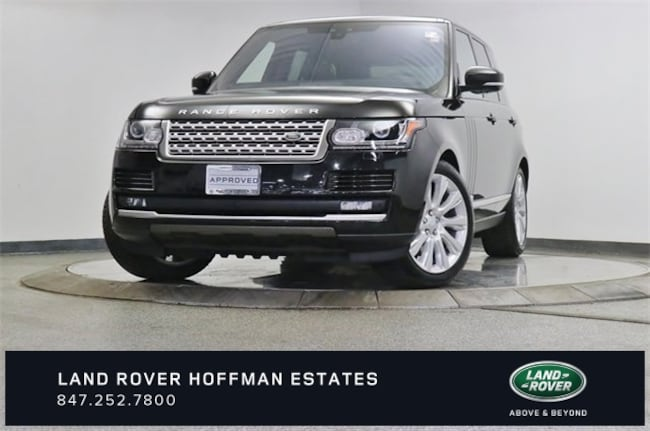 2017 Land Rover Range Rover 5.0L V8 Supercharged SUV