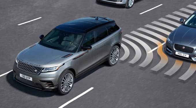 2018 Range Rover Velar Blind Spot Assist