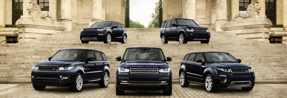 New Land Rover Luxury All Terrain Vehicles
