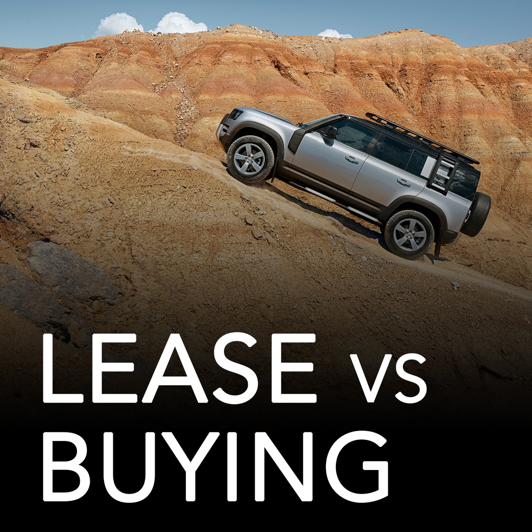 Leasing vs buying at Land Rover of Naperville
