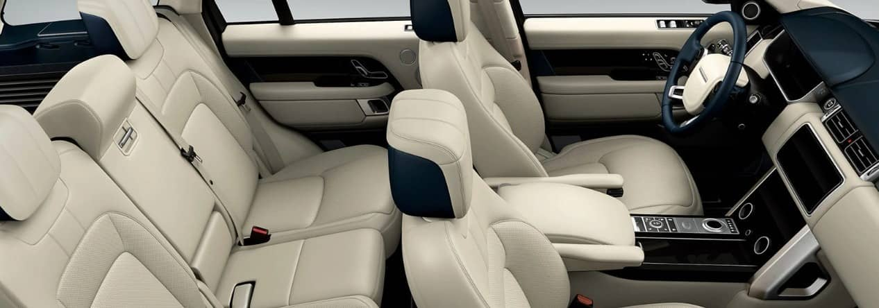 interior seating 2019 Land Rover Range Rover