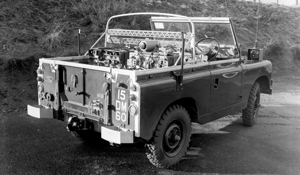 Series II Military Specification Land Rover
