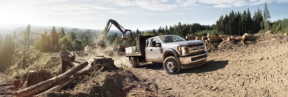 2019 Ford F-250 on construction site