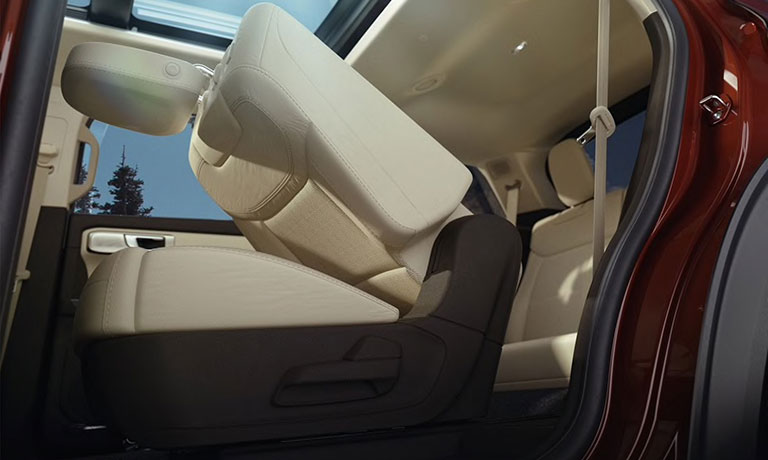 2020 Ford Explorer interior seating