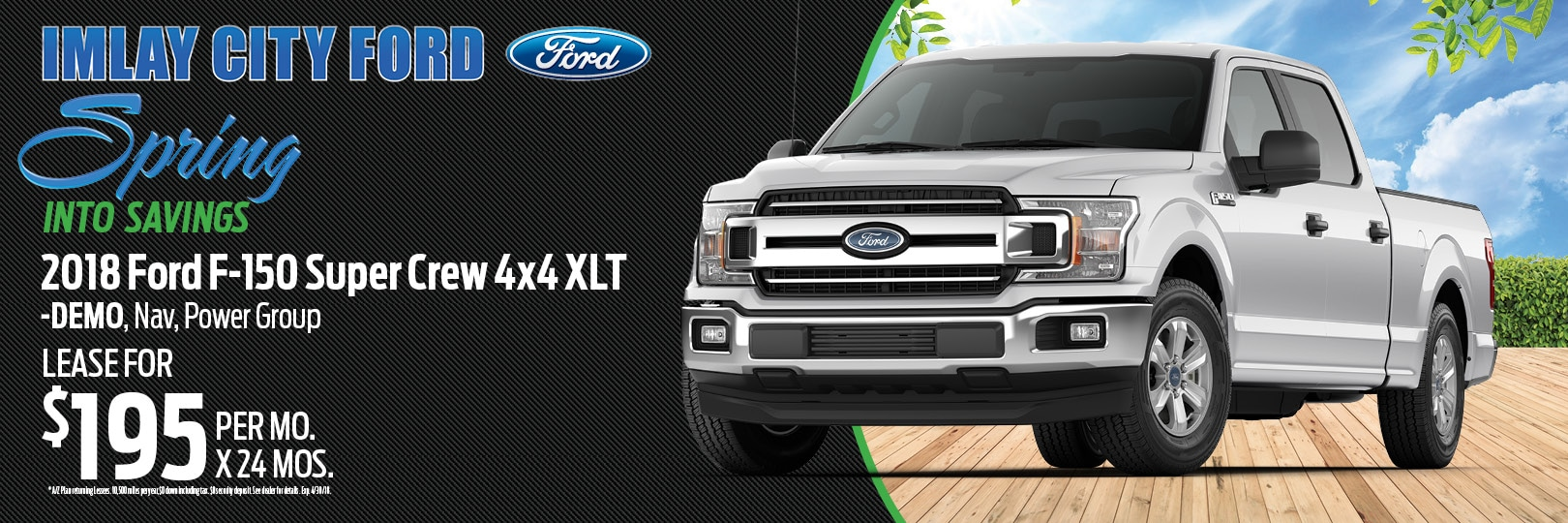 2018 Ford F-150 Demo Vehicle