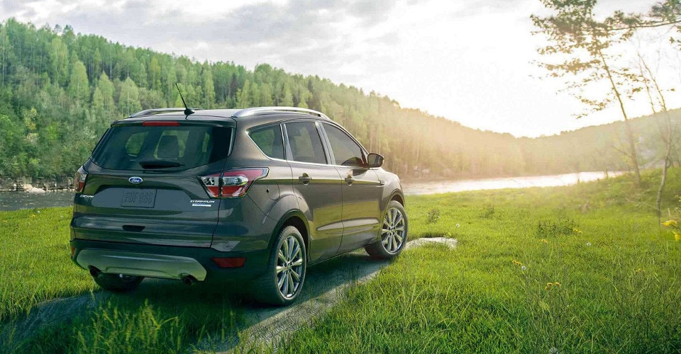 2018 Ford Escape Titanium Rear
