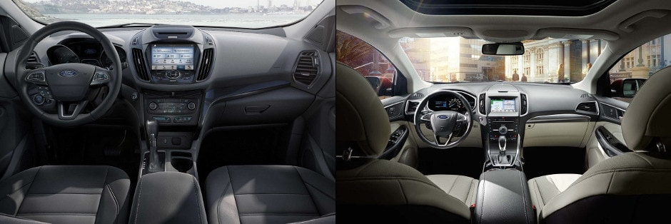 Ford Escape And  Ford Edge Interior Image