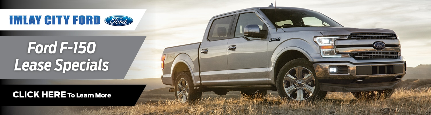 Ford F-150 Lease Offer at Imlay City Ford