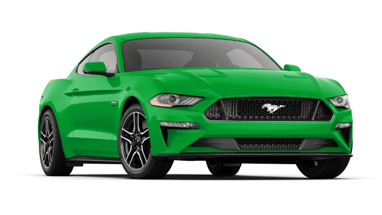 2019 Ford Mustang in Green