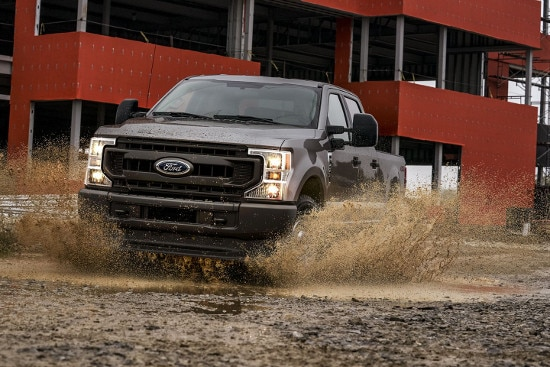 Brown 2020 Ford Super Duty F-250 exterior