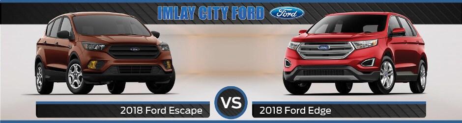 Ford Escape Vs  Ford Edge