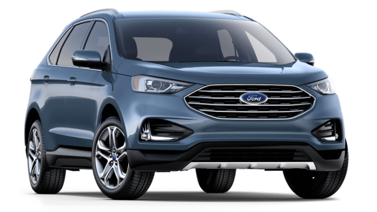 2019 Ford Edge Titanium in Blue