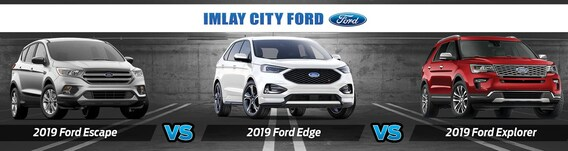 Edge Vs Explorer >> 2019 Ford Edge Vs Escape Vs Explorer How Do They Compare