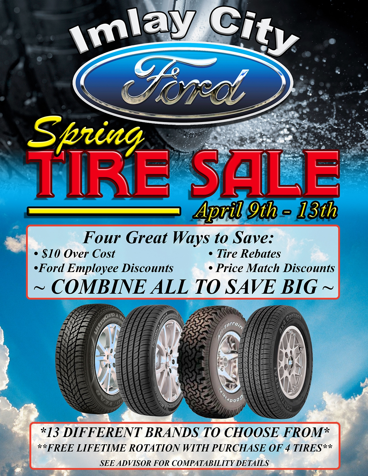Spring Tire Sale