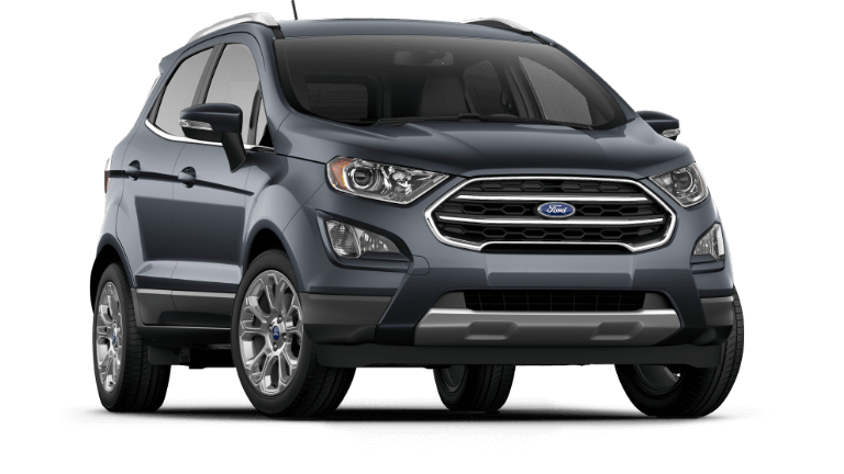 2019 Ford EcoSport in Smoke