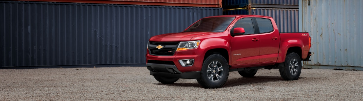 2018 Chevy Colorado Mid-Size Pickup Truck