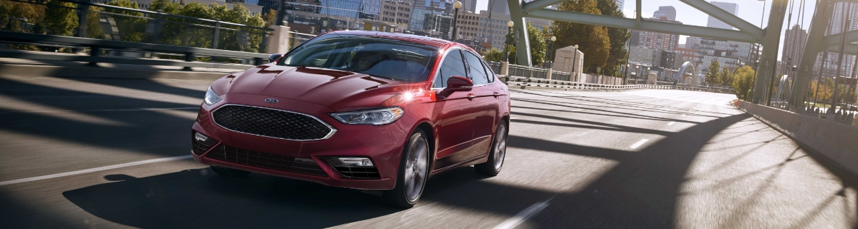 2017 Ford Fusion Mid-Size Sedan