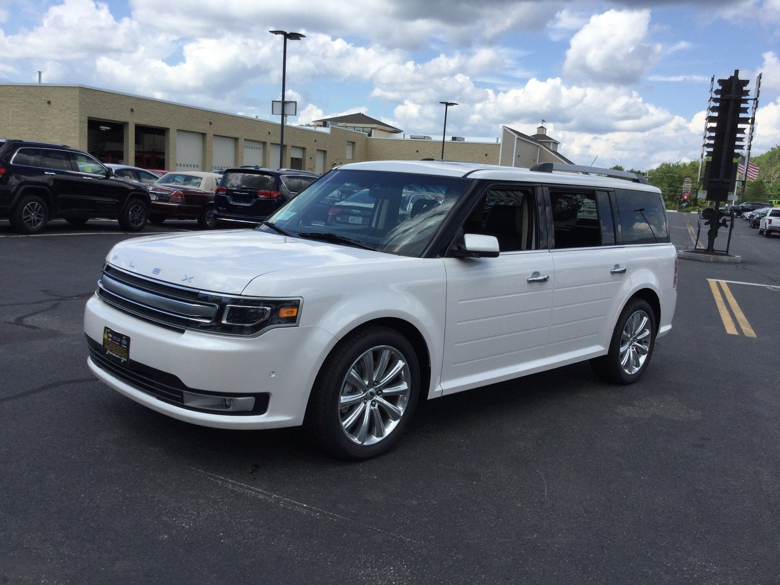 2018 Ford Flex Limited w/EcoBoost Crossover