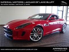 Used 2015 Jaguar F-TYPE V8 R Coupe SAJWA6DA5FMK20864 for sale in Lake Bluff, IL