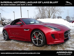 Used 2016 Jaguar F-TYPE R Convertible SAJWJ6HL6GMK31594 for sale in Lake Bluff, IL