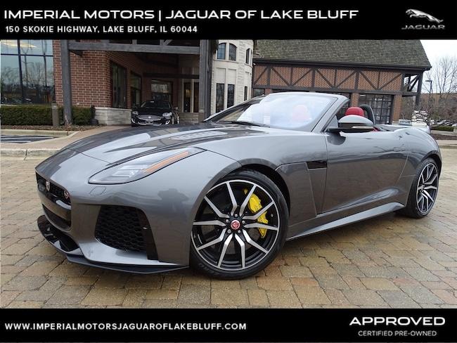 2018 Jaguar F-TYPE SVR Convertible