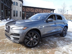New 2019 Jaguar F-PACE Portfolio SUV SADCN2GX1KA361431 for sale in Lake Bluff, IL