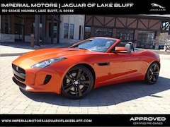 Used 2016 Jaguar F-TYPE Convertible SAJWA6ET1G8K32553 for sale in Lake Bluff, IL