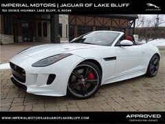 Certified Pre-Owned 2016 Jaguar F-TYPE R AWD Convertible SAJWJ6HL7GMK31748 for sale in Lake Bluff, IL