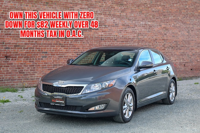 2012 Kia Optima EX - FULLY LOADED LEATHER! Sedan