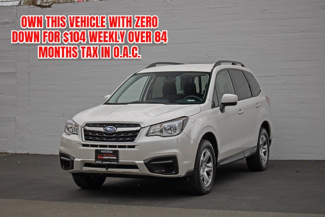 2017 Subaru Forester 2.5i CVT AWD - HEATED SEATS! SUV