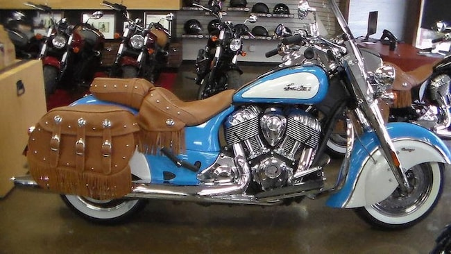 2018 Indian Motorcycle Chief  Vintage ABS Sky Blue Ov