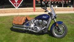 2019 Indian Motorcycle Scout  ABS Deep Water Metallic