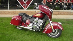 2018 Indian Motorcycle Chieftain  Classic ABS Red