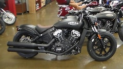 New 2019 Indian Motorcycle Scout  Bobber ABS Thunder Blac for sale at Dick Scott Automotive Group