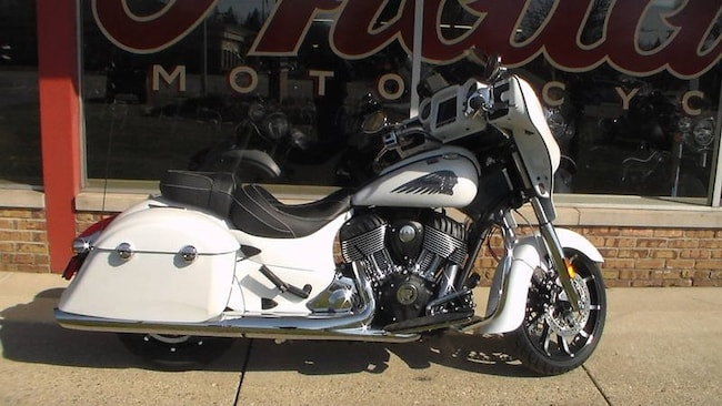 2018 Indian Motorcycle Chieftain  Limited ABS White S