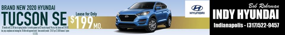 Brand New 2020 Hyundai TUCSON SE