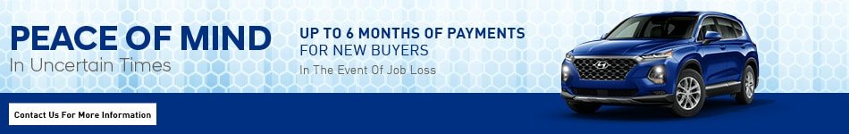 Peace of Mind - Up to 6 Months of Payments