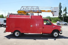 2010 Ford E-450 13 FT SERVICE BOX/LADDER BUCKET RH-44D Commercial