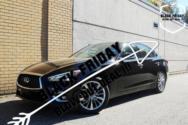 2018 INFINITI Q50 3.0T Luxe AWD Perfect Condition, Big Saving Demo. Sedan