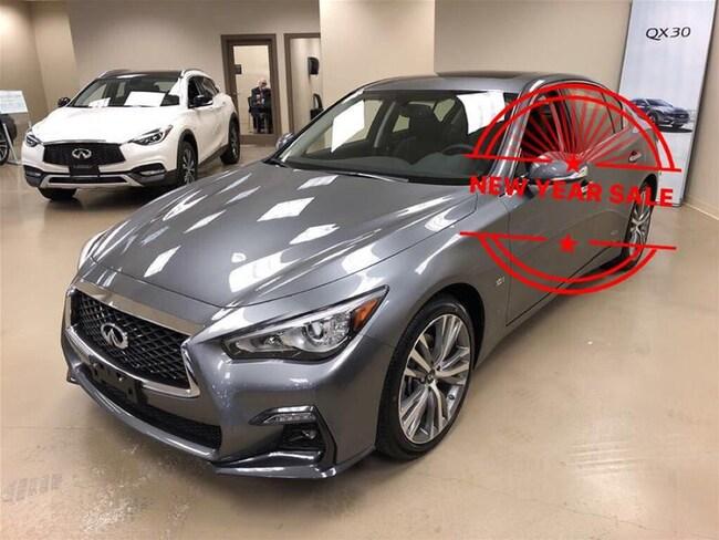 2018 INFINITI Q50 3.0T AWD Signature Edition All Finance Approval, L Sedan