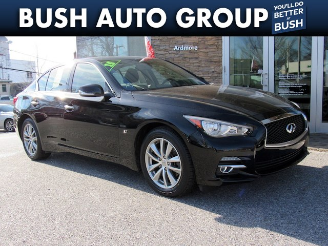 2015 INFINITI Q50 Moonroof Back up Camera Streaming Audio Sedan